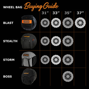 Wheel Bag - Stealth