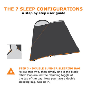 Sleeping Bag - The Sleep System