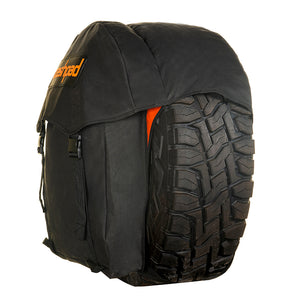 dirty gear wheel bag