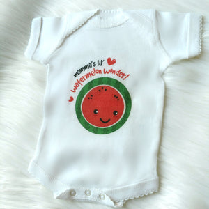 Baby's First Milestones- Cute Newborn (NB) Onezie-GIRL-Picot Hem