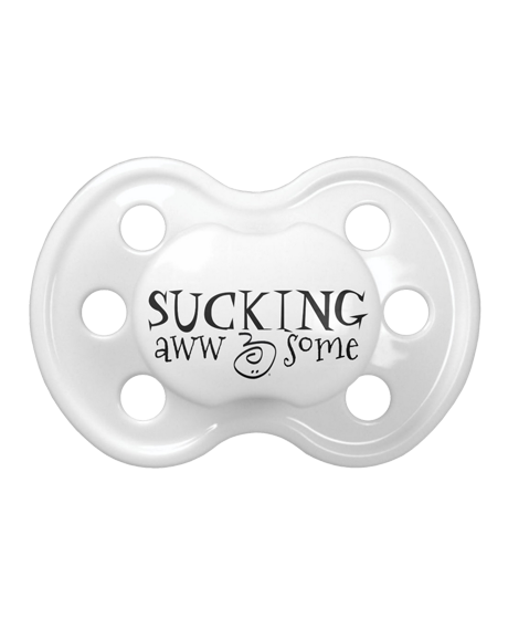 Pacify With A Purpose-Cray 4-A Cause-Sucking Aww-Some Pacifier Binky