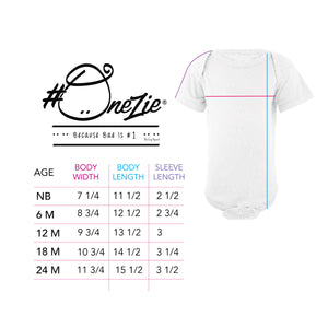 Baby's First Milestones- Cute Newborn (NB) Onezie-GIRL-Picot Hem-Pregnancy Milestones- Delivery Due Date
