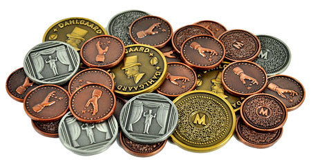 Trickerion Metal Coins