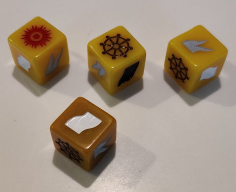 Island Siege Resin Dice