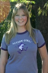 Action Girl Short Sleeve Tshirt Medium