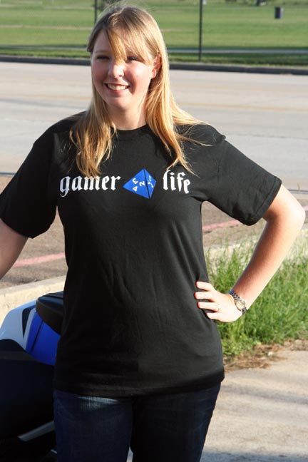 Gamer 4 Life Short Sleeve Tshirt X-Large
