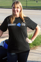 Gamer 4 Life--Short Sleeve Tshirt Large