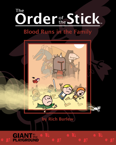 Order of the Stick: Book 5 - Blood Runs in the Family Scratch and Dent