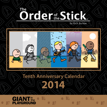 Order of the Stick 2014 10th Anniversary Calendar
