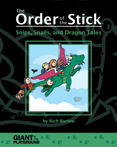 Order of the Stick: Book - Snips, Snails and Dragon Tales Scratch & Dent