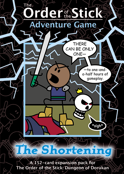 Order of the Stick Adventure Game: The Shortening Expansion