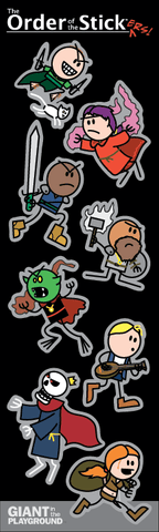 Order of the Stick: Sticker Sheet