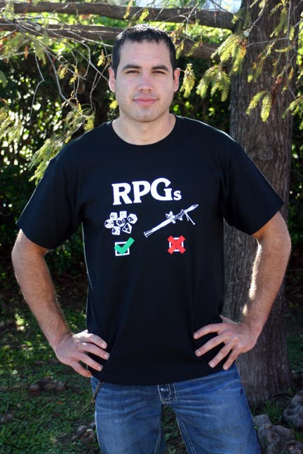 RPG--Short Sleeve Tshirt Large