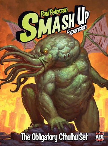 Smash Up - Obligatory Cthulhu Expansion