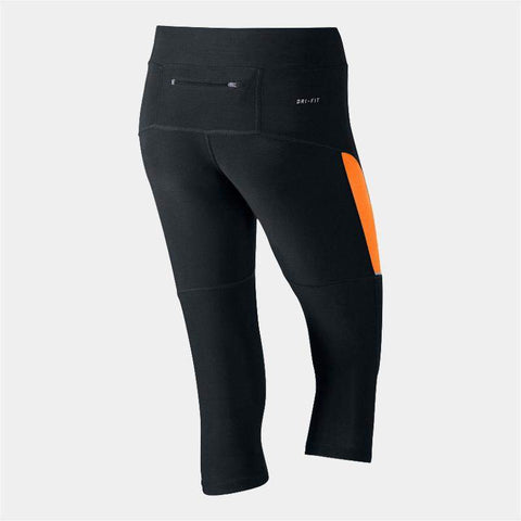 Nike Womens Filament Capri Tights Black / Orange
