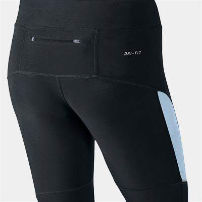 Nike Womens Filament Capri Tights Black / Blue