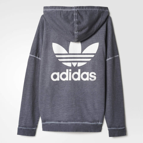 adidas Originals Womens Premium Washed Zip Hoodie