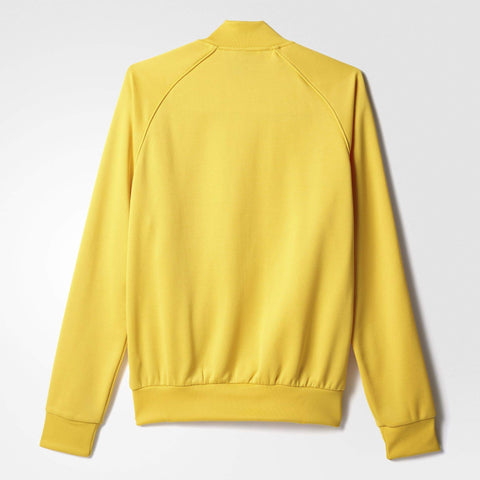 adidas Originals Mens Superstar Track Top Yellow
