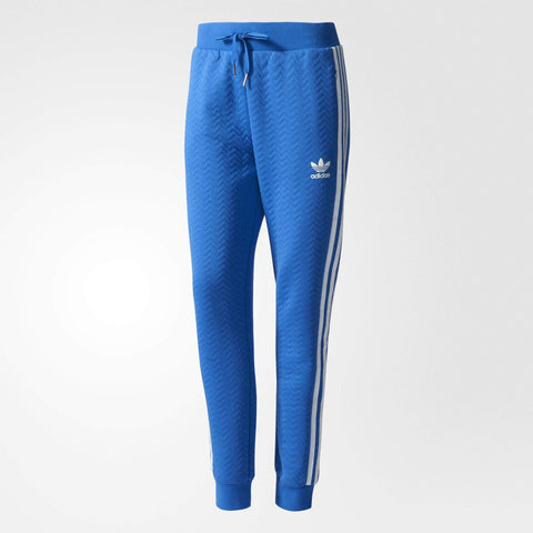 adidas Originals Womens ZigZag Textured Cuffed Track Pants