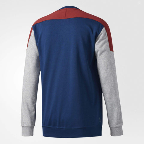 adidas Skateboarding Mens Climalite Nautical Sweatshirt