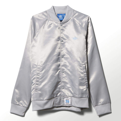 adidas x NIGO Mens NYC Satin Snap Superstar Track Top