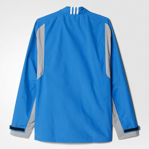 adidas Golf Mens Gore-Tex Paclite Technical Jacket Blue