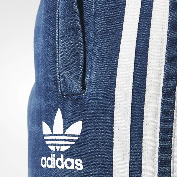 adidas Originals Mens French Terry Denim Look Track Pants