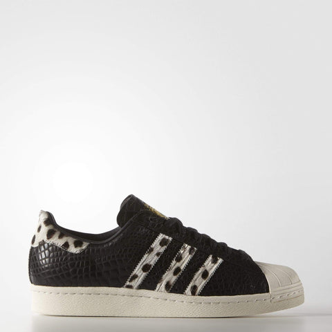 adidas Originals Mens Superstar 80s Animal Trainers
