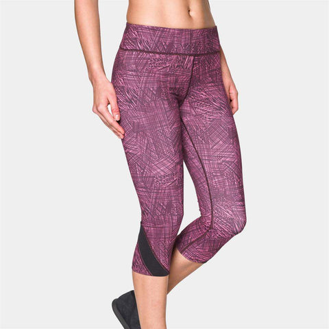 Under Armour Womens Take-A-Chance 51cm Printed Capri Tights