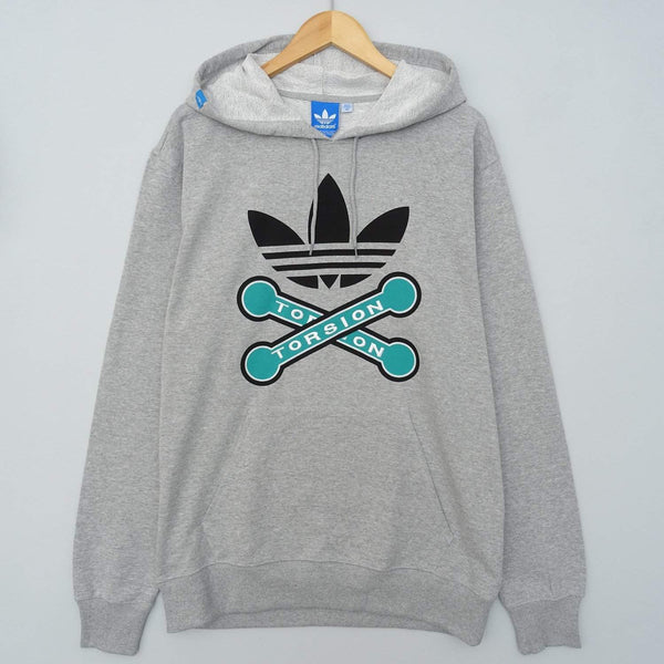 adidas Originals Mens Torsion Pullover Hoodie - B Grade