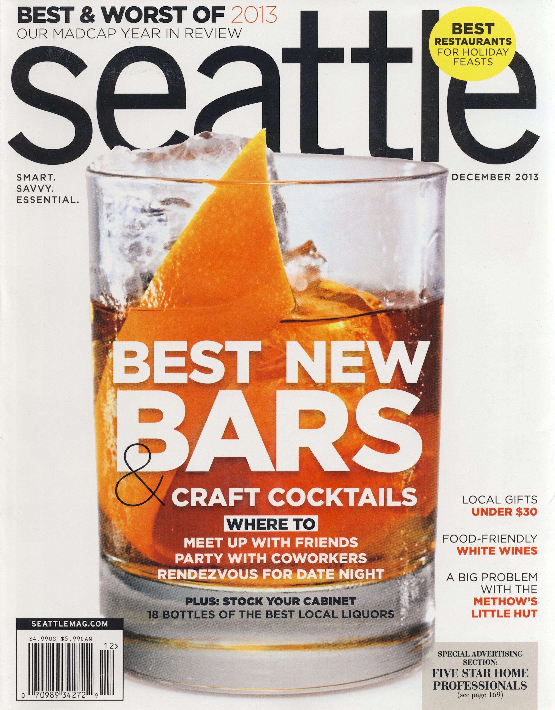 Seattle Magazine, December 2013