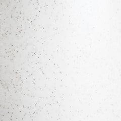 Freckle glaze sample, our in-house custom glaze.  White pottery with specks of brown, mid-century inspired ceramics.
