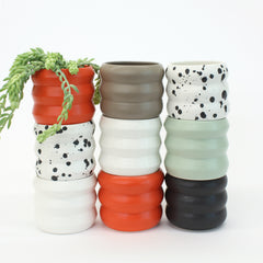 Small Planters / Dusty Black - Corbé