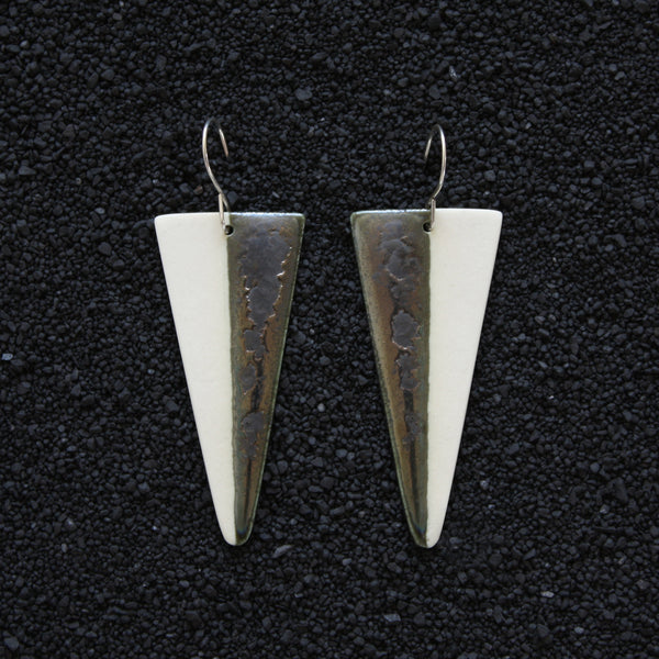 Spear Earrings / Lagoon - Corbé