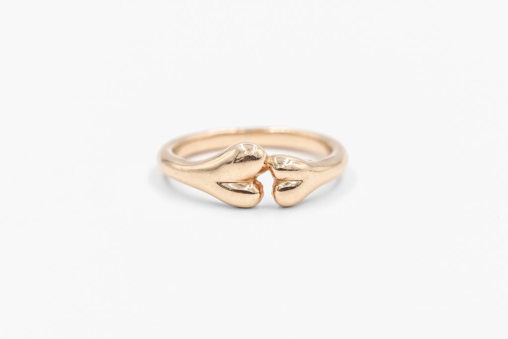 Rose gold Boneyard Ring