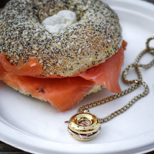 The Bagel Lox & cream