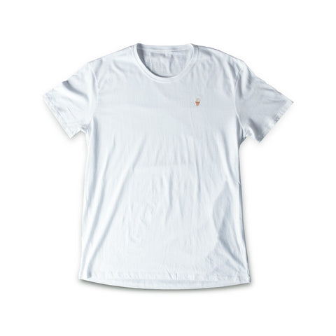 French terry Cream Cone T-shirt