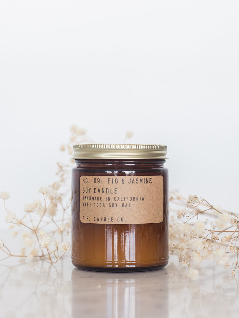 Fig & Jasmine Soy Candle