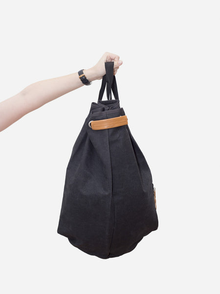 Simple Bag - Washed Black