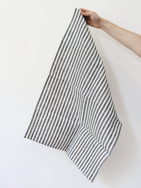 Kitchen Cloth - Navy Stripe
