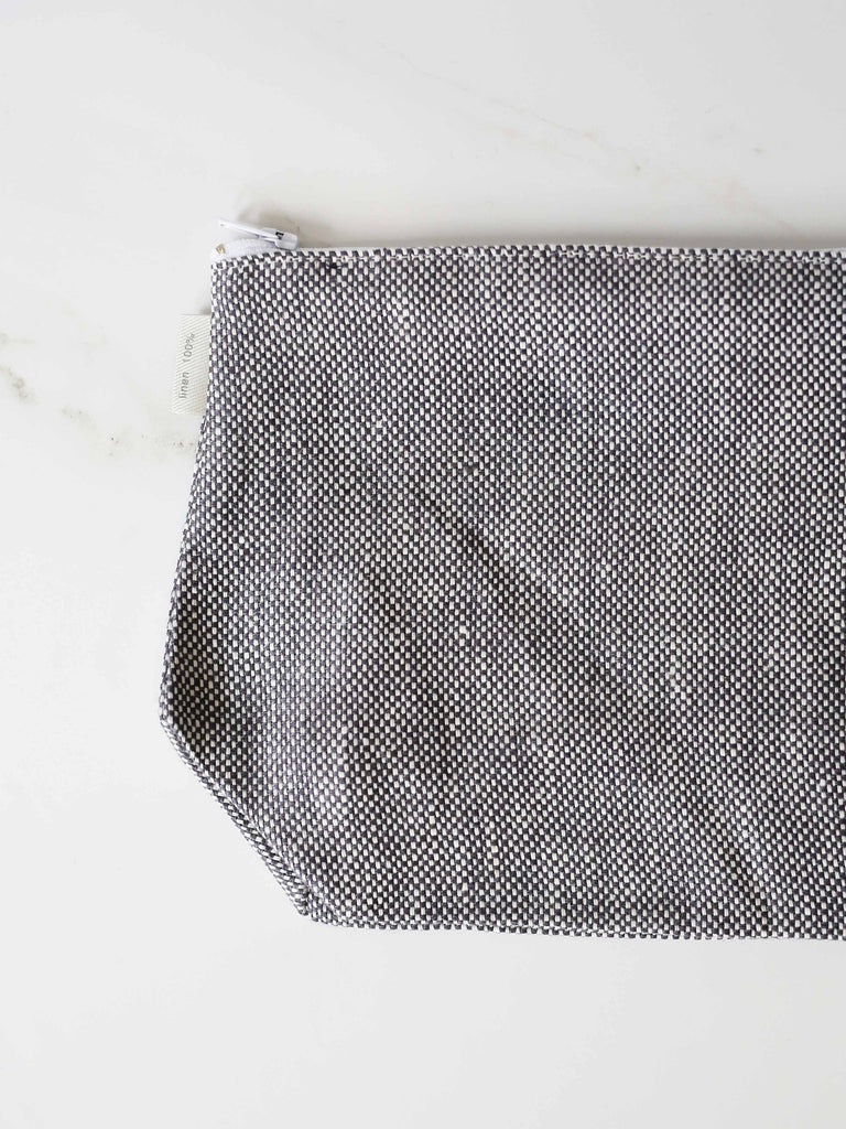Fred Pouch - Grey Chambray