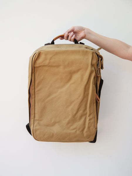 Backpack - Organic Camel