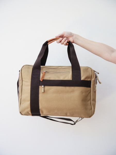 Office Bag - Organic Camel
