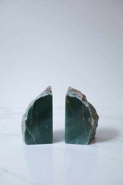Aventurine Quartz Book Ends (pair)