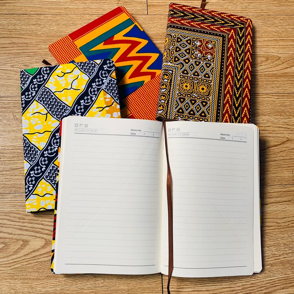 African print or Ankara Note Pad/ Journal
