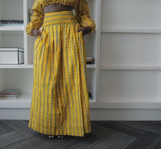 Rimi Maxi Skirt With Slits