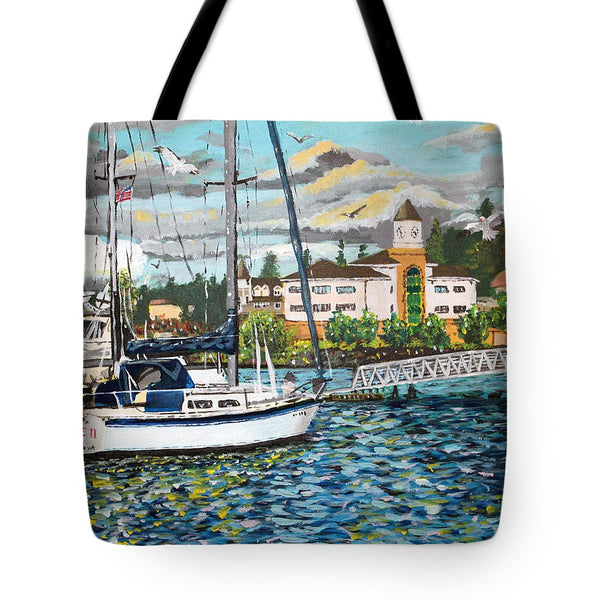 Marina - Tote Bag - Blue Creations Store