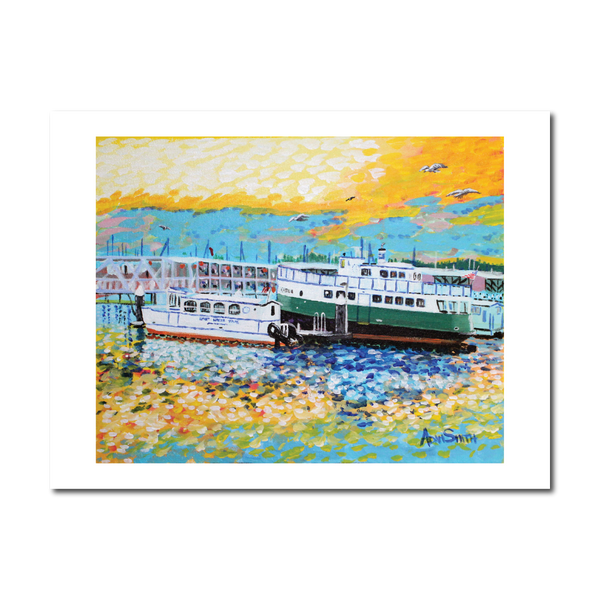 """Foot Ferry"" Print"