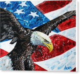American Eagle - Canvas Print - Blue Creations Store