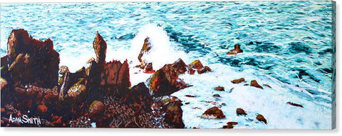 Black Rocks - Canvas Print - Blue Creations Store